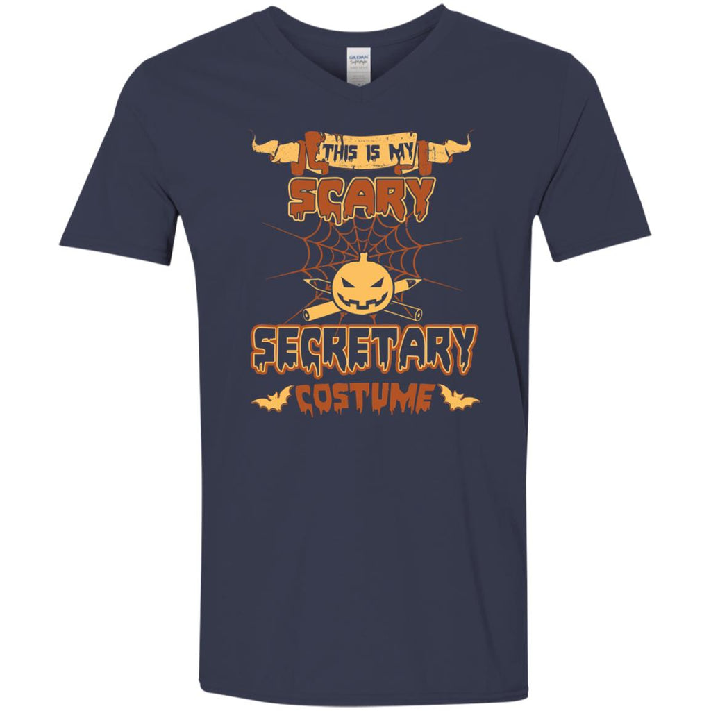 This Is My Scary Secretary Costume Halloween Tee Shirt
