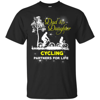 Dad & Daughter Cycling T Shirts