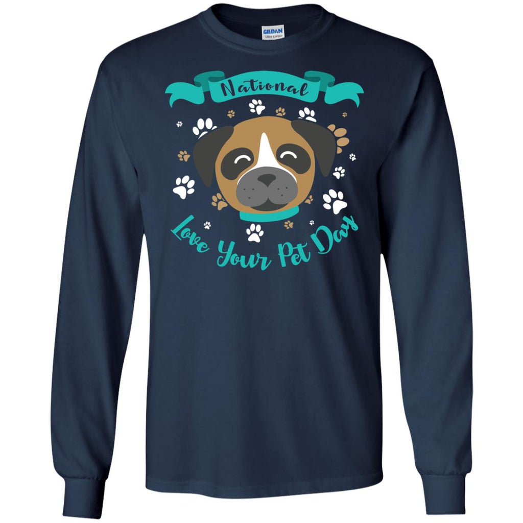 Funny Boxer Dog T Shirt National Love Your Pet Star War Style Vota