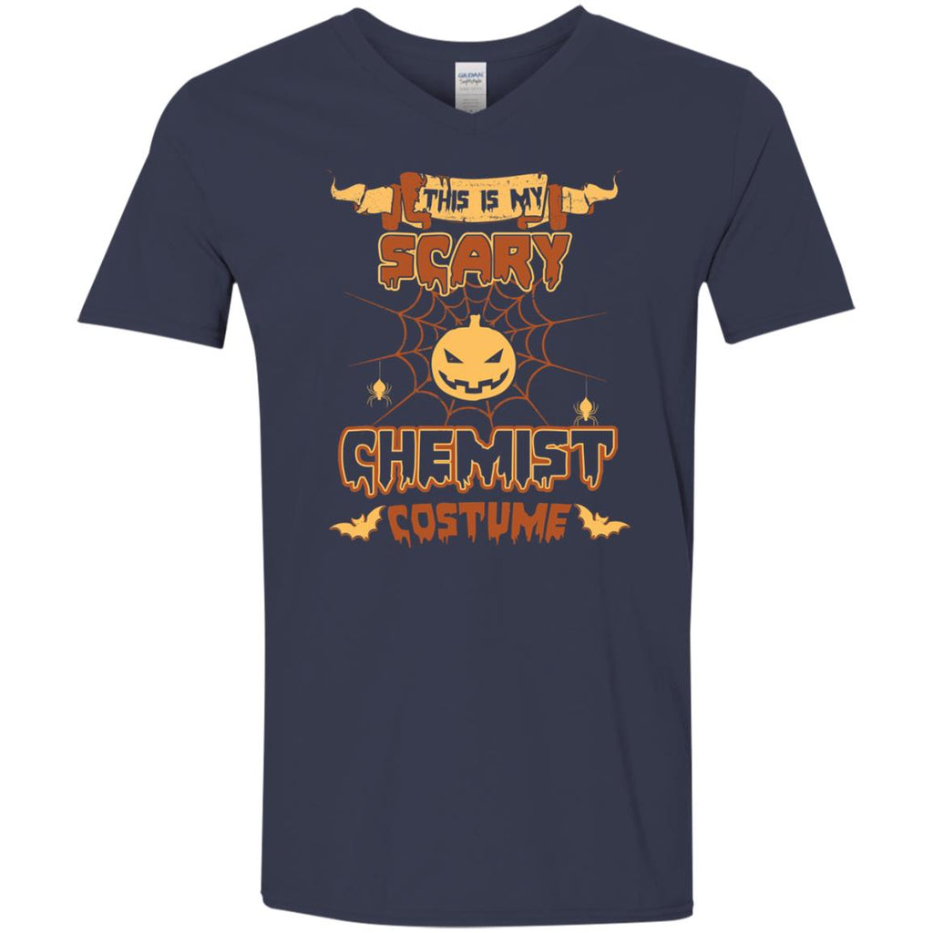 This Is My Scary Chemist Costume Halloween Tee Shirt