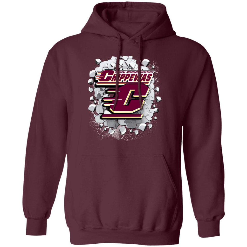 Amazing Earthquake Art Central Michigan Chippewas T Shirt