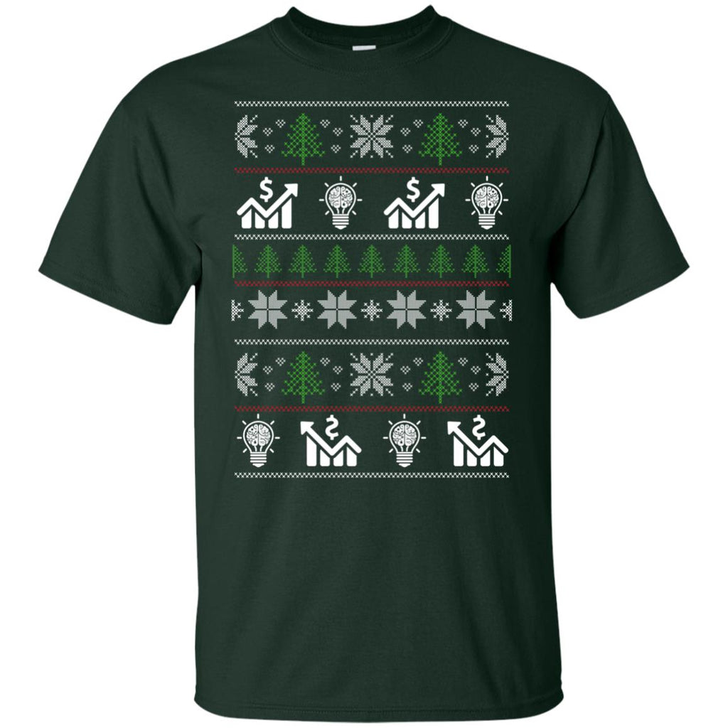 Ugly Sweater Brand Manager Symbol Tee Shirt