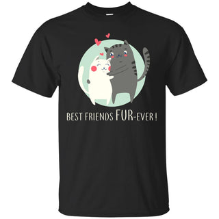 Nice Cat TShirt Best Friends Fur-ever is a cool gift for friends