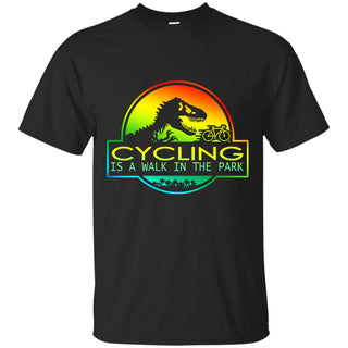 Cycling Is A Walk In The Park T Shirts