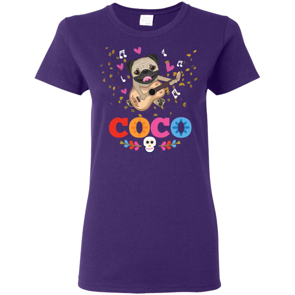 Coco Pug Tee shirt as puppy gift for family