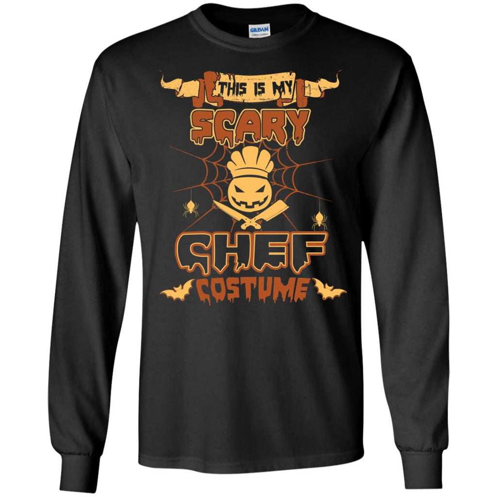 This Is My Scary Chef Costume Halloween Tee Shirt