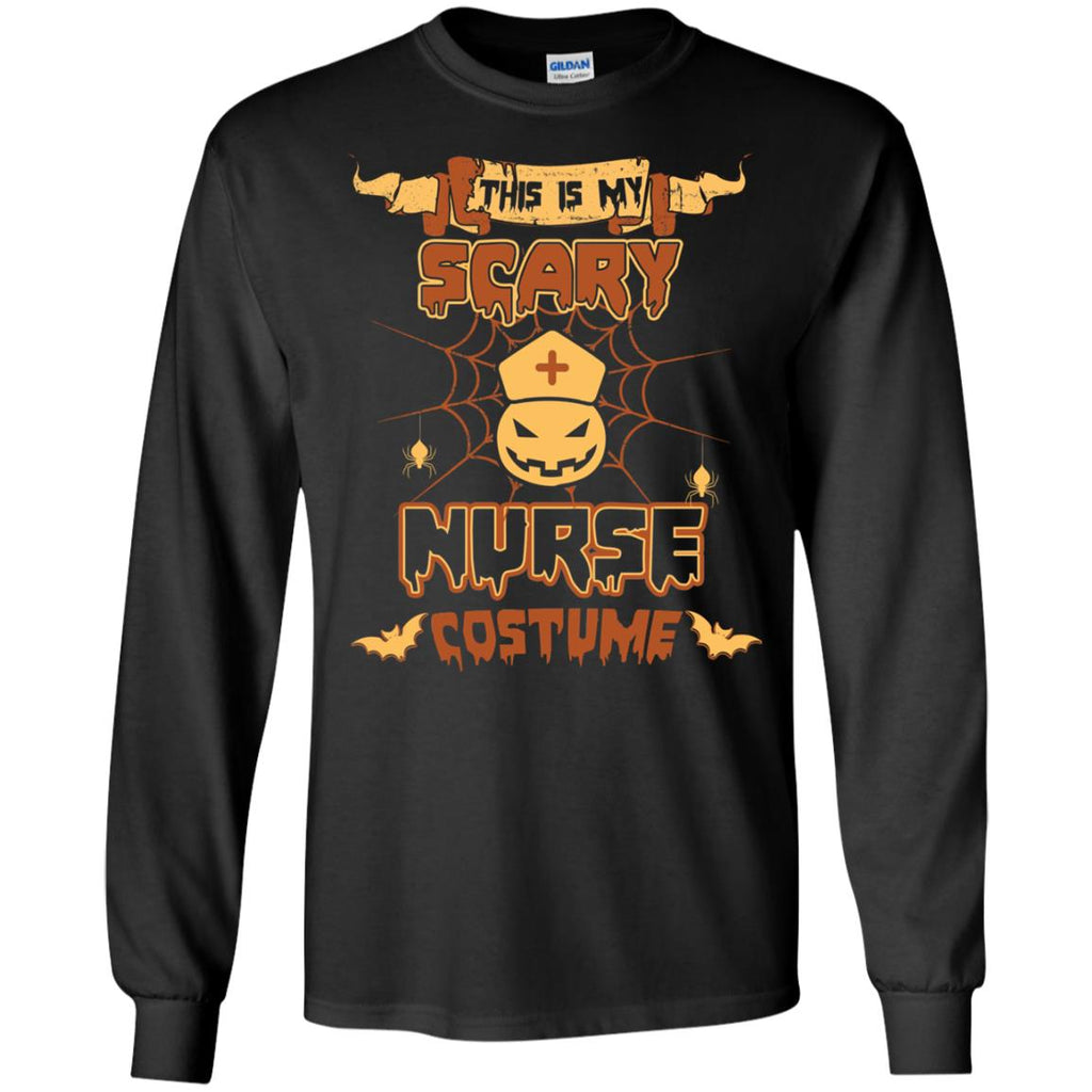 This Is My Scary Nurse Costume Halloween Tee Shirt