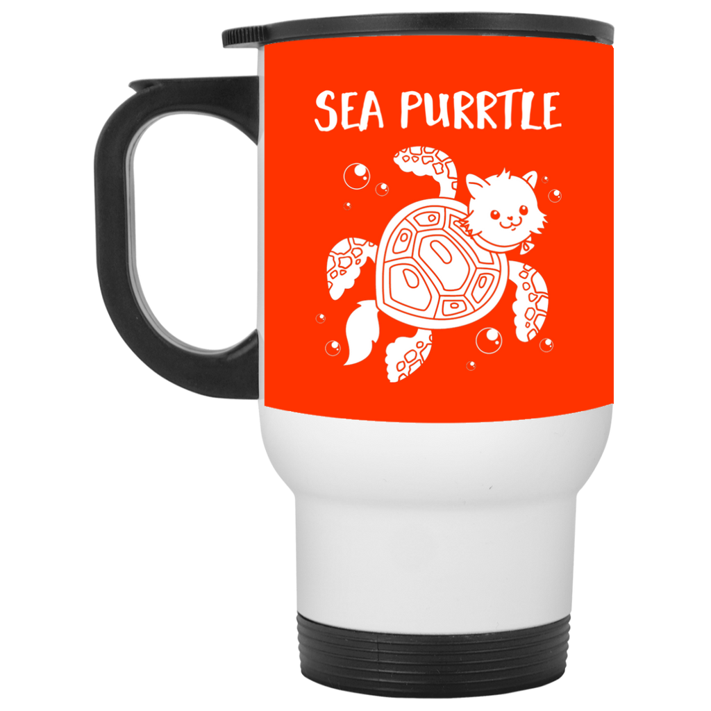 Cute Cat Mugs - Sea Purrtle Ver 2, is cool gift for your friends