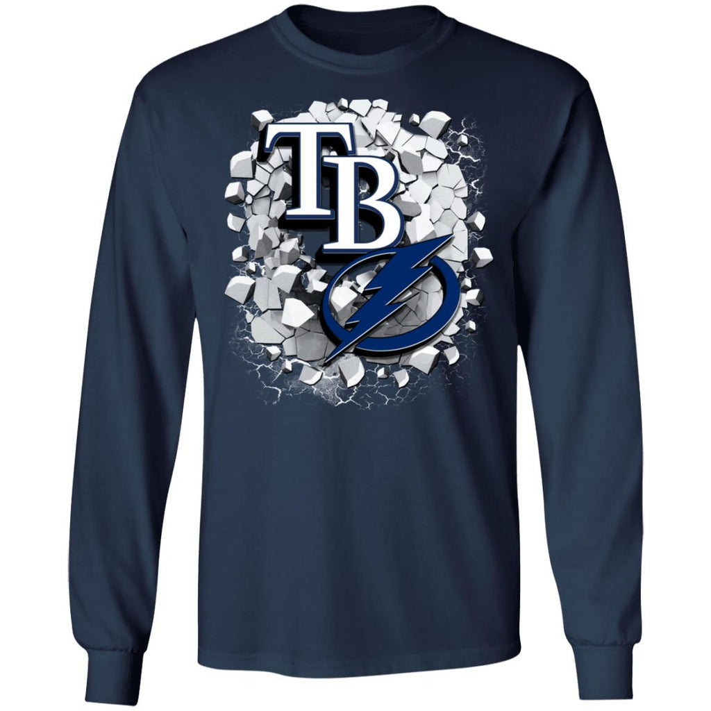 Amazing Earthquake Art Tampa Bay Lightning T Shirt
