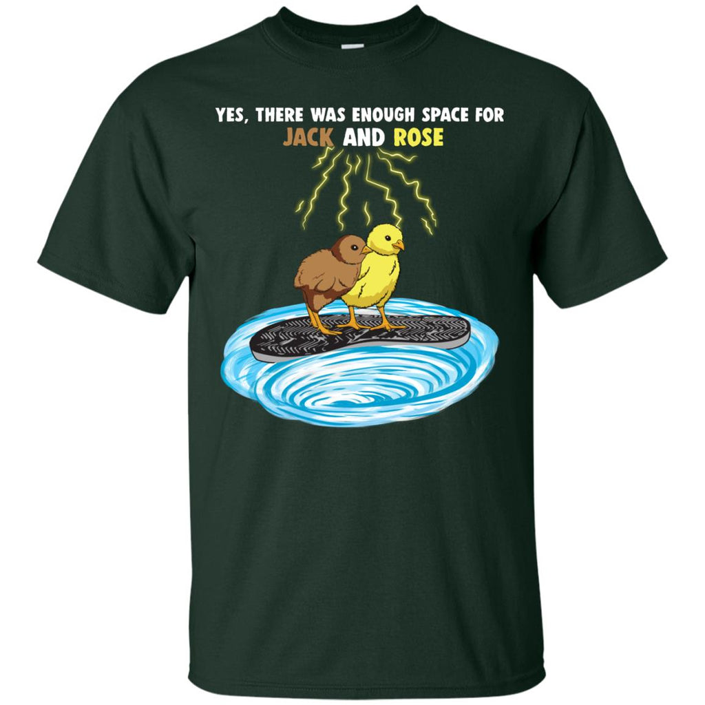 There Was Enough Space Chicken Tshirt For Farming Living Lover