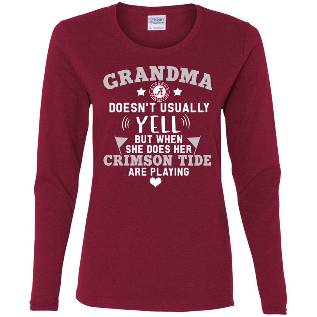 Cool But Different When She Does Her Alabama Crimson Tide Are Playing T Shirt
