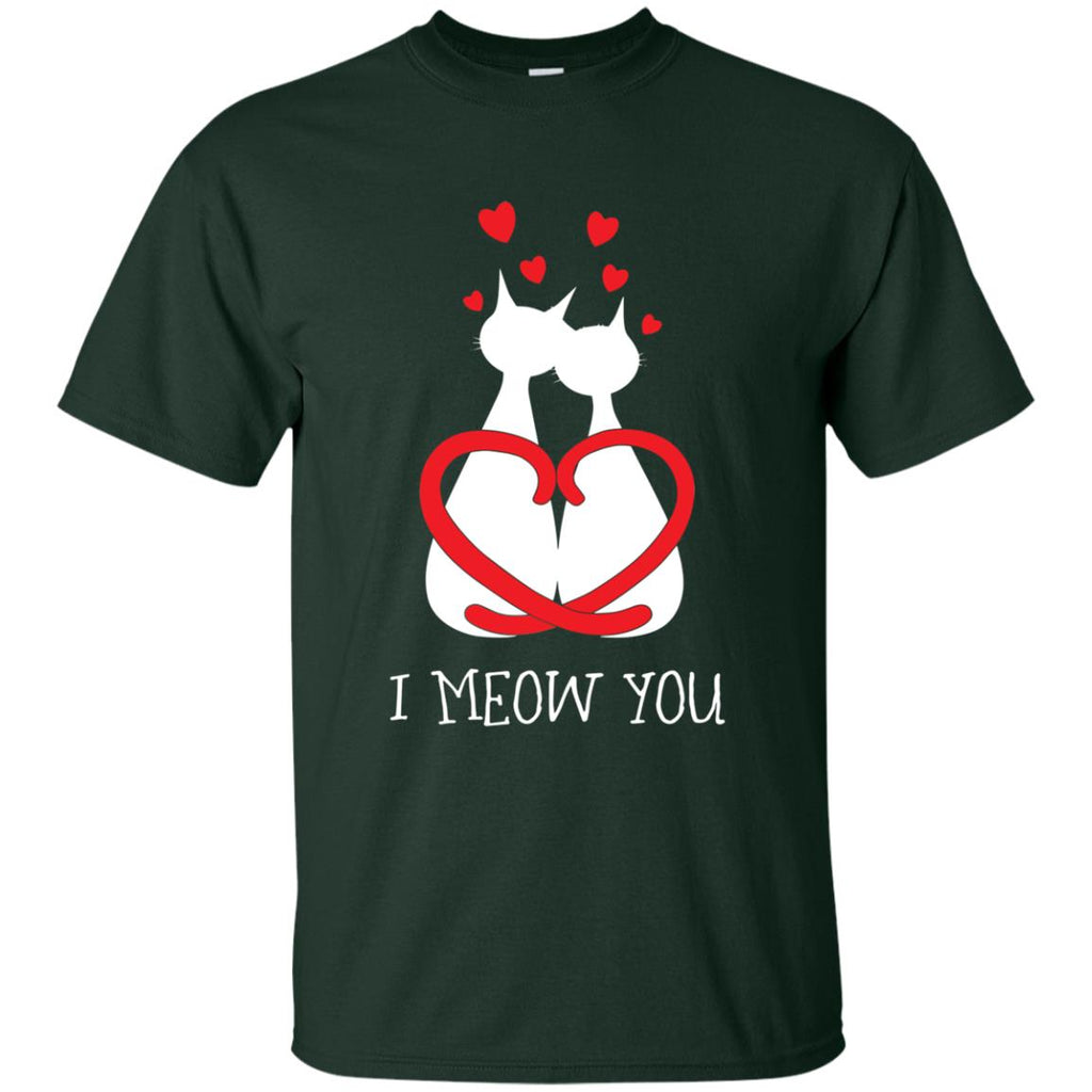 Nice Cat Tshirt I Meow You is cool gift for friends and family