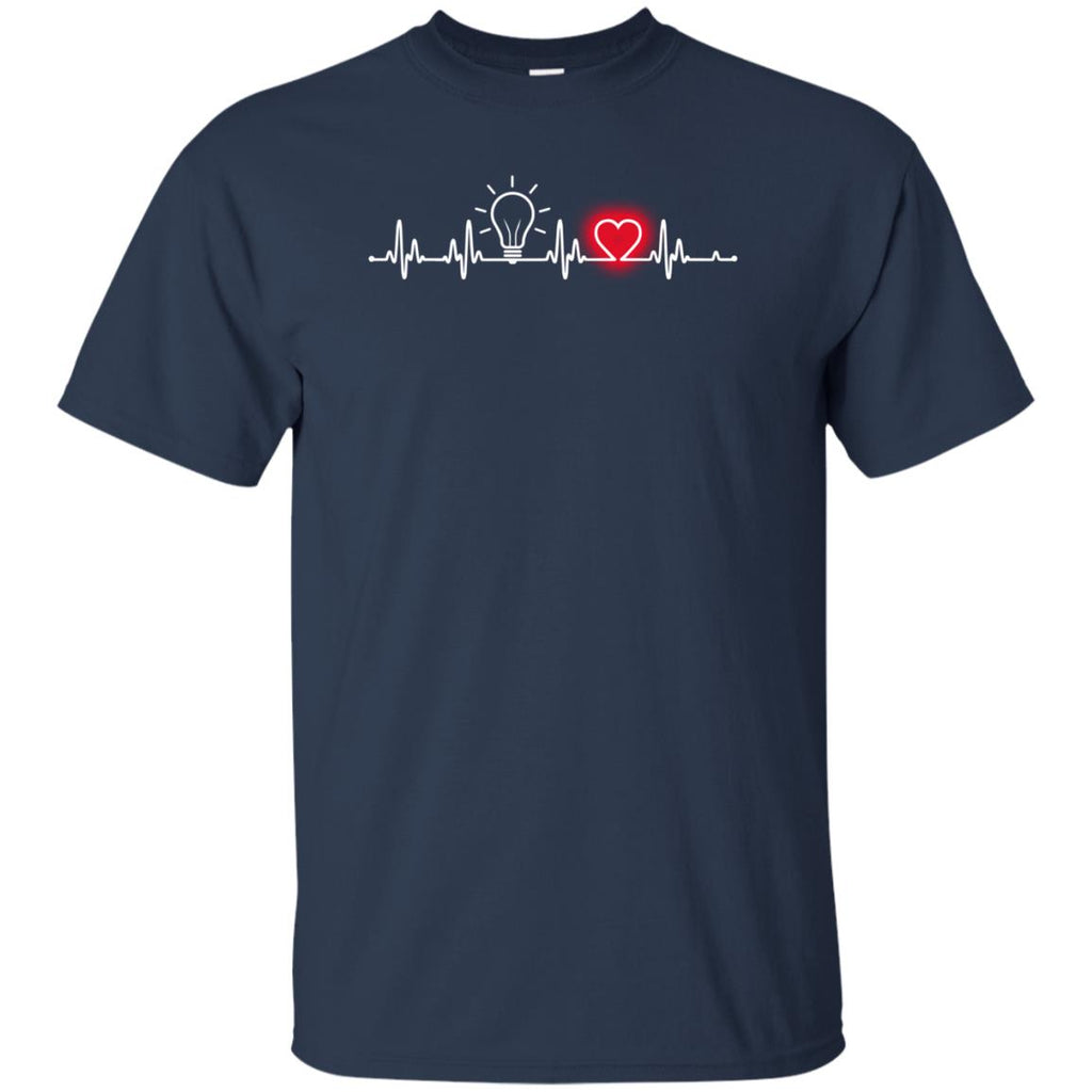 Heart Beat Red Brand Manager Tshirt for Lovers