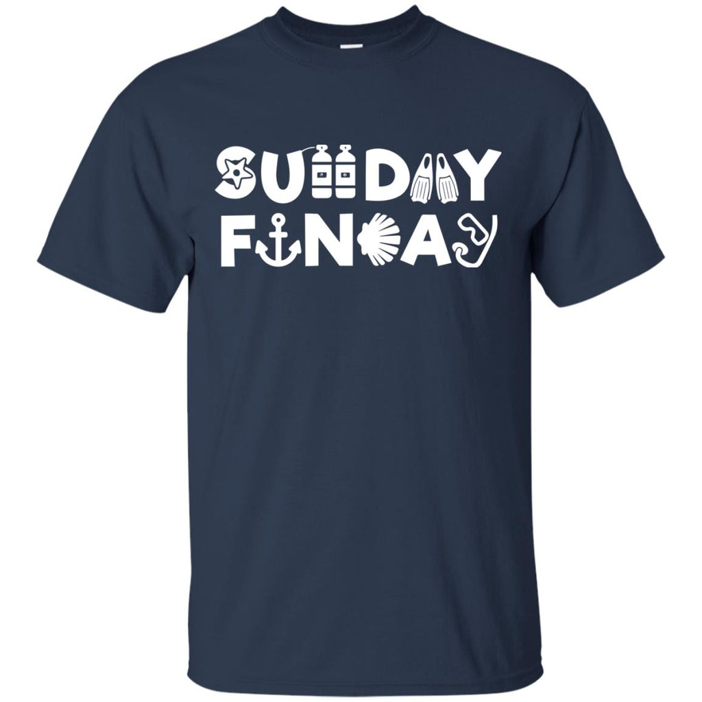 Nice Diving Tshirt Sunday Funday Diving is cool gift for you