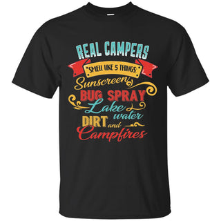 Five Things Need For Campers T Shirt