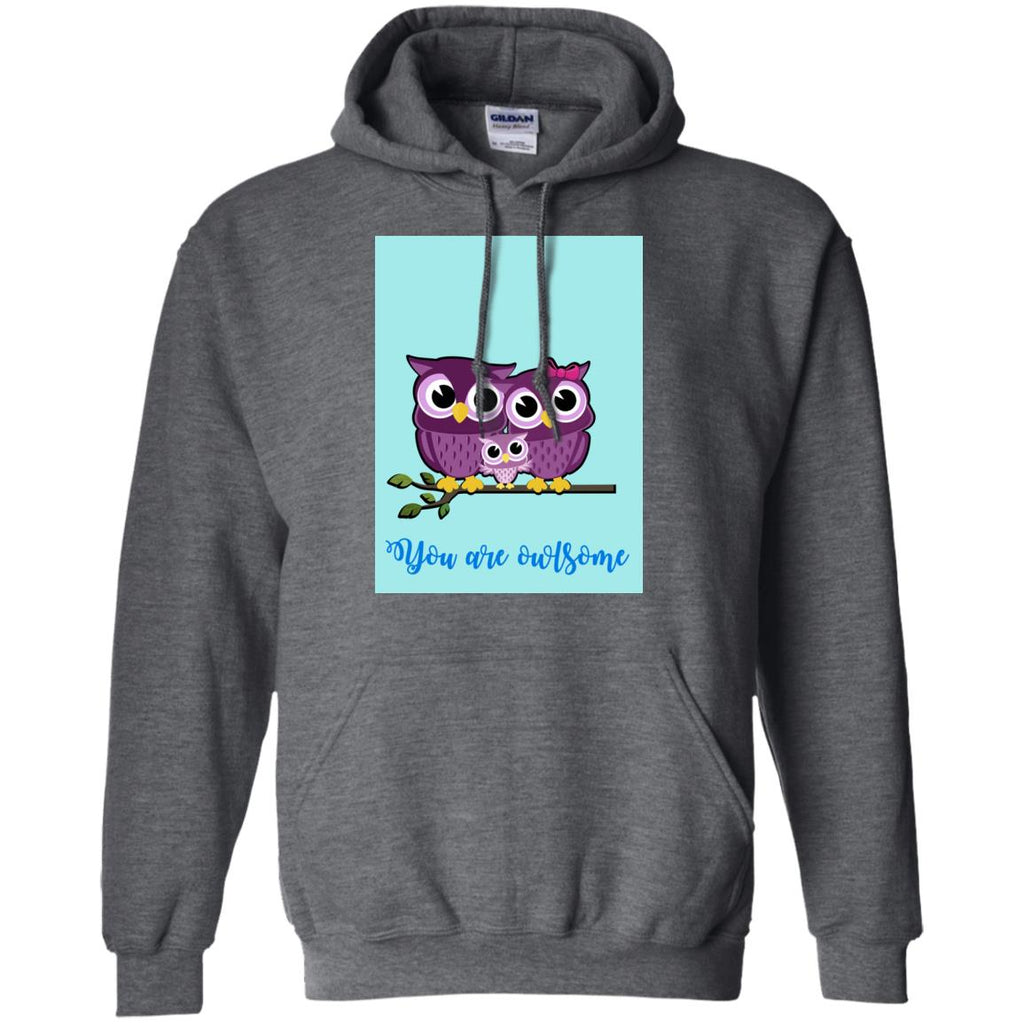 Blue You Are Owlsome Cute Shirt