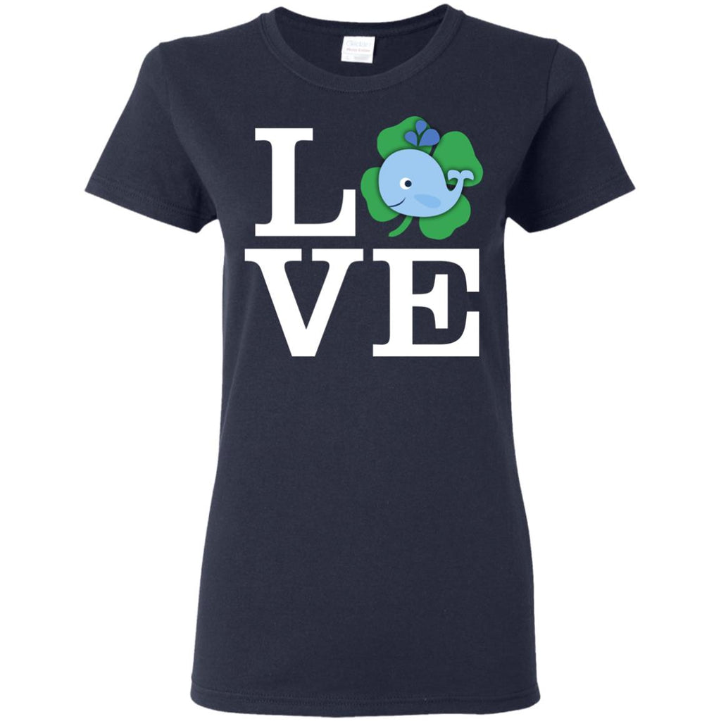 Funny Whale Tshirt Love Animals Will Whale Lovers