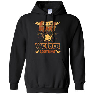 This Is My Scary Welder Costume Halloween Tee Shirt
