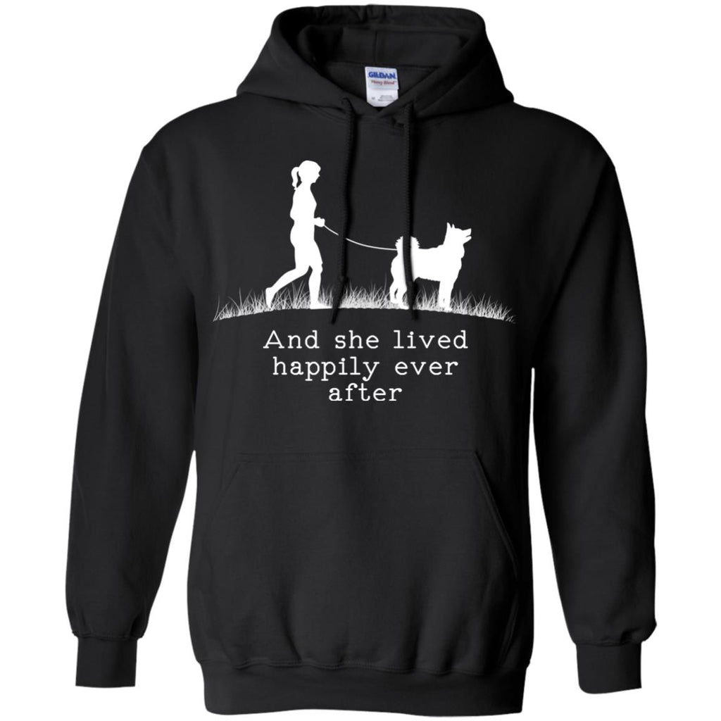 Siberian Husky And She Lived Happily Ever After Dog Tshirt For Lover