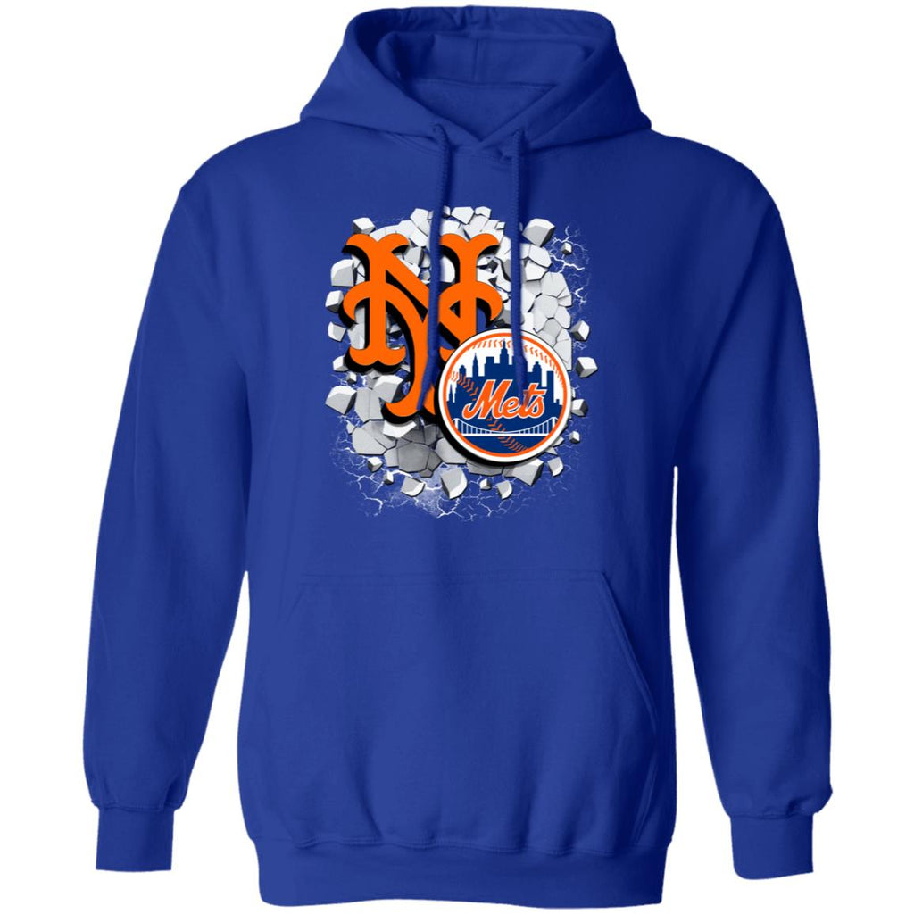 Amazing Earthquake Art New York Mets T Shirt