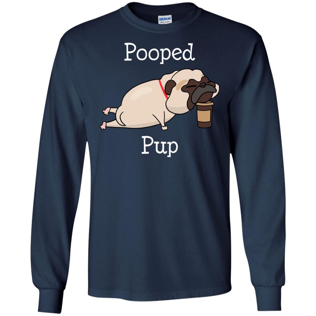 Nice Pug Tshirt Pooped Pup is amazing gift tee shirt for friends