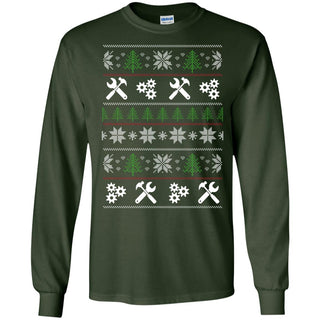 Ugly Sweater Technician Symbol T Shirts