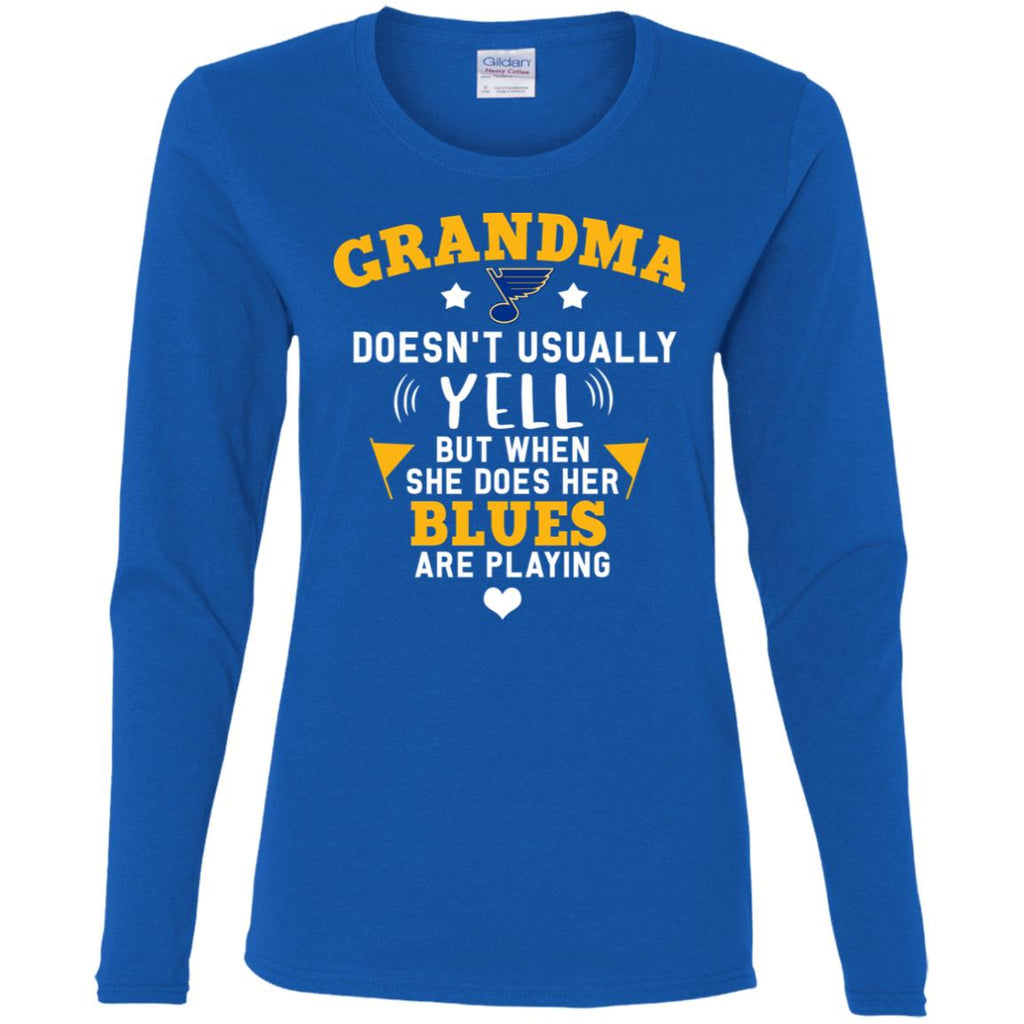 Cool But Different When She Does Her St. Louis Blues Are Playing T Shirts