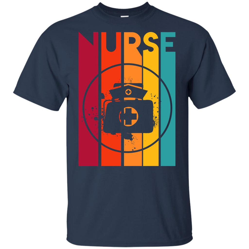 Retro Nurse Vintage T Shirt