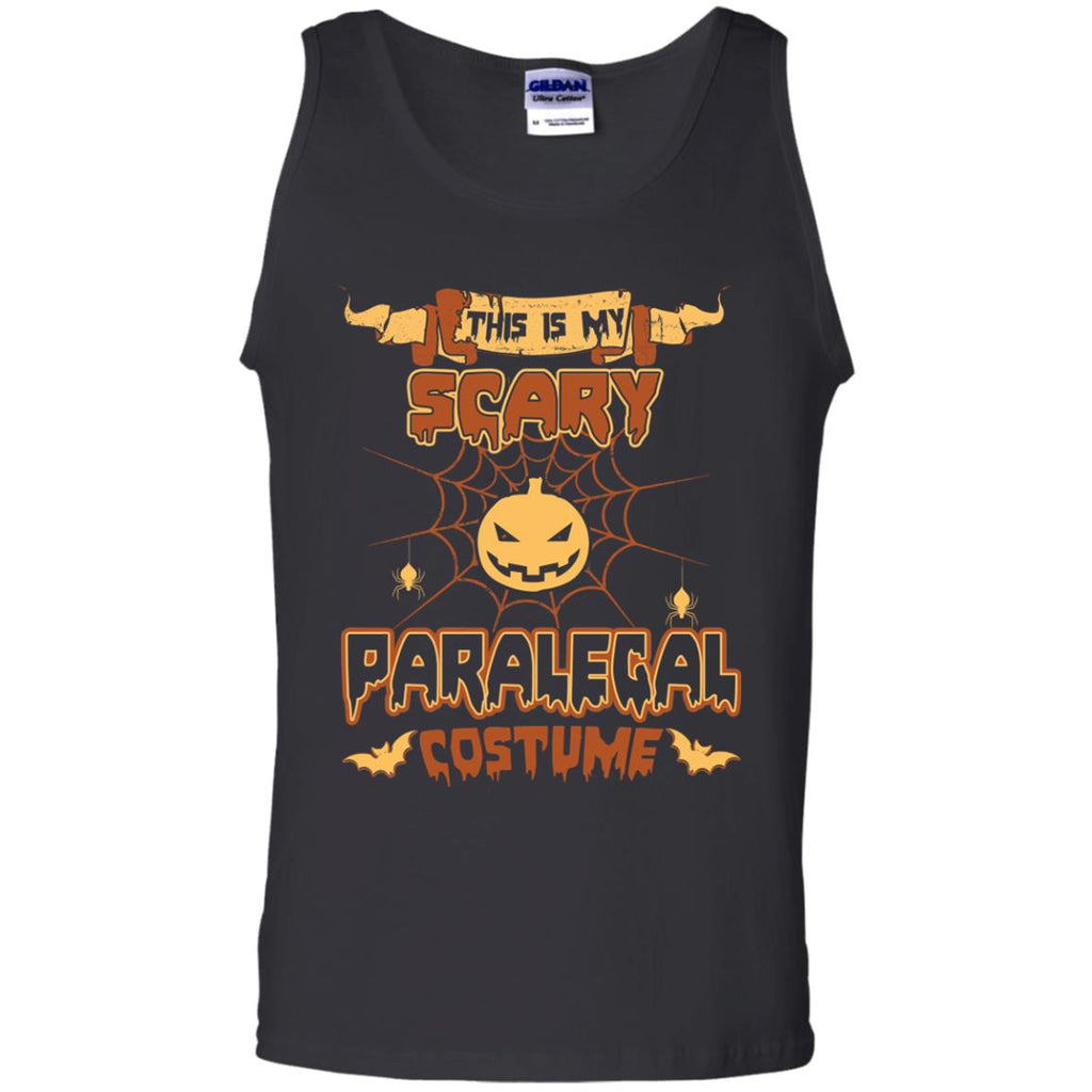 This Is My Scary Paralegal Costume Halloween Tee Shirt