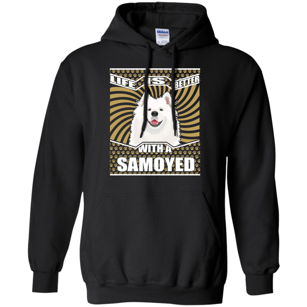 Life Is Better With A Samoyed Cute True Samoyed Tshirt For Lover
