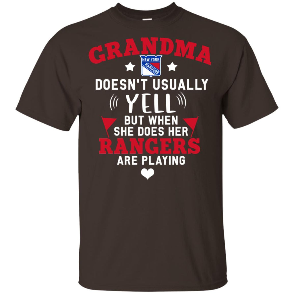 Cool But Different When She Does Her New York Rangers Are Playing T Shirts