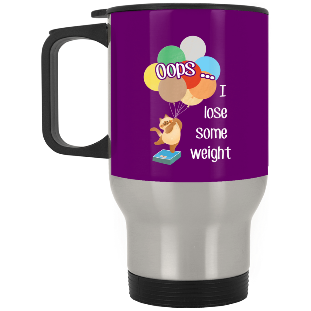 Oops I Lose Some Weight Cat Mugs