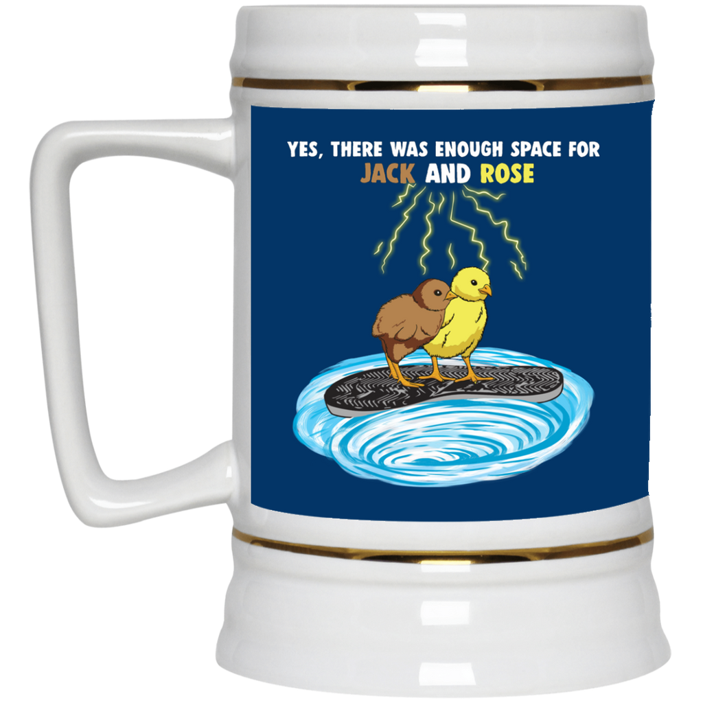 There Was Enough Space Chicken Mugs