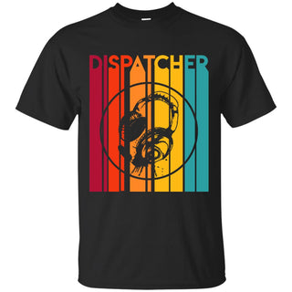 Retro Dispatcher Vintage T Shirt