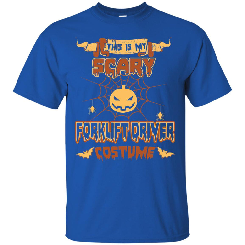 This Is My Scary Forklift Driver Costume Halloween Tee Shirt