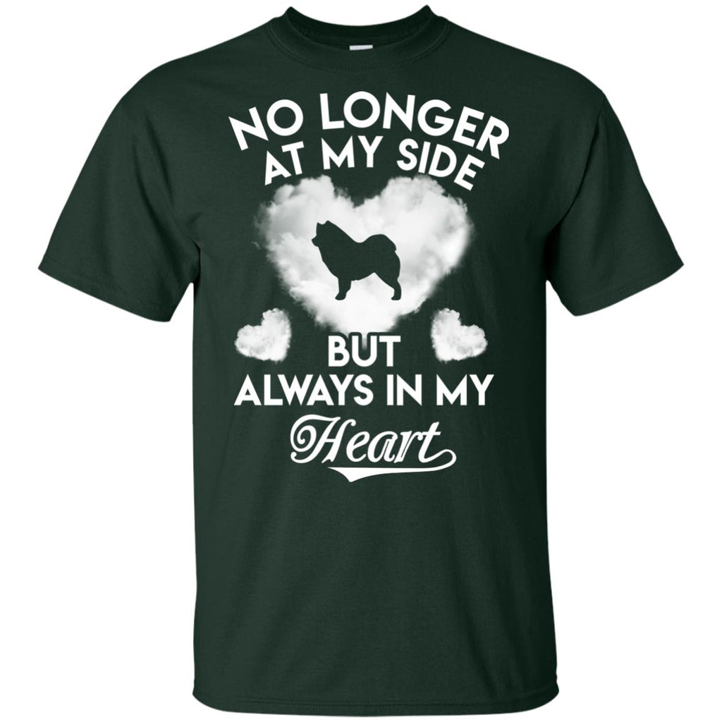No Longer At My Side But Always In My Heart Samoyed Tshirt For Lover