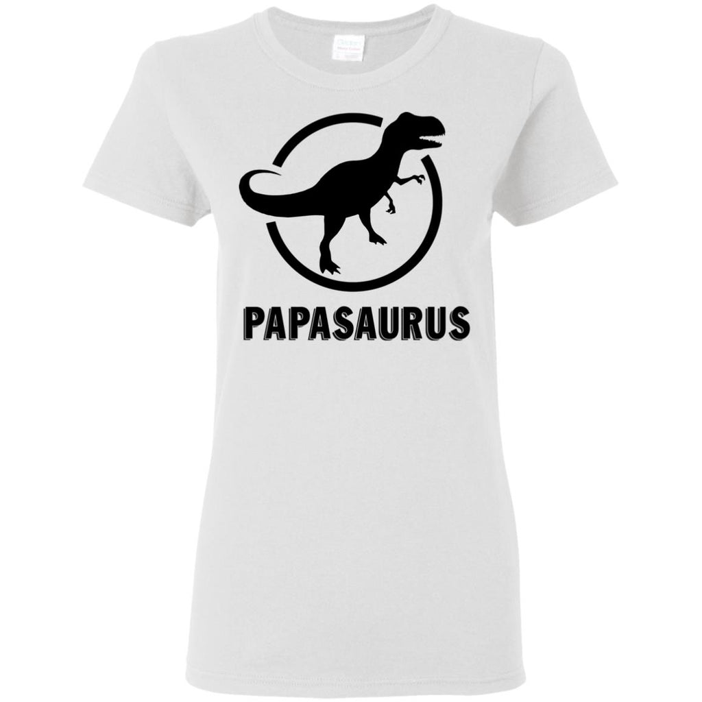Papasaurus T Shirt For Father's Day