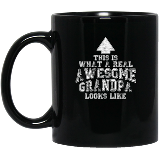 Nice Grandpa Mugs - This Is What A Real Awesome Grandpa Looks Like