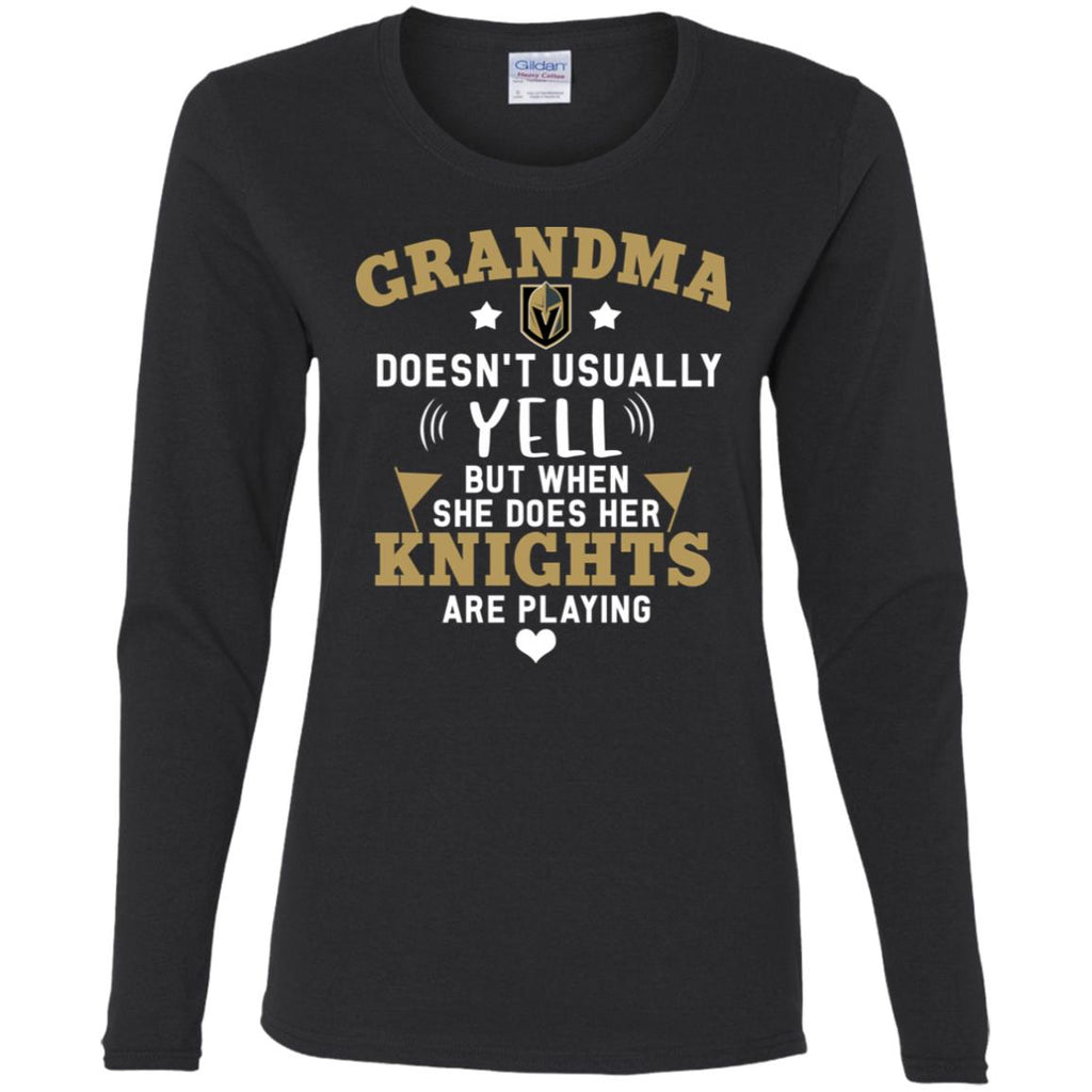 Cool But Different When She Does Her Vegas Golden Knights Are Playing T Shirts
