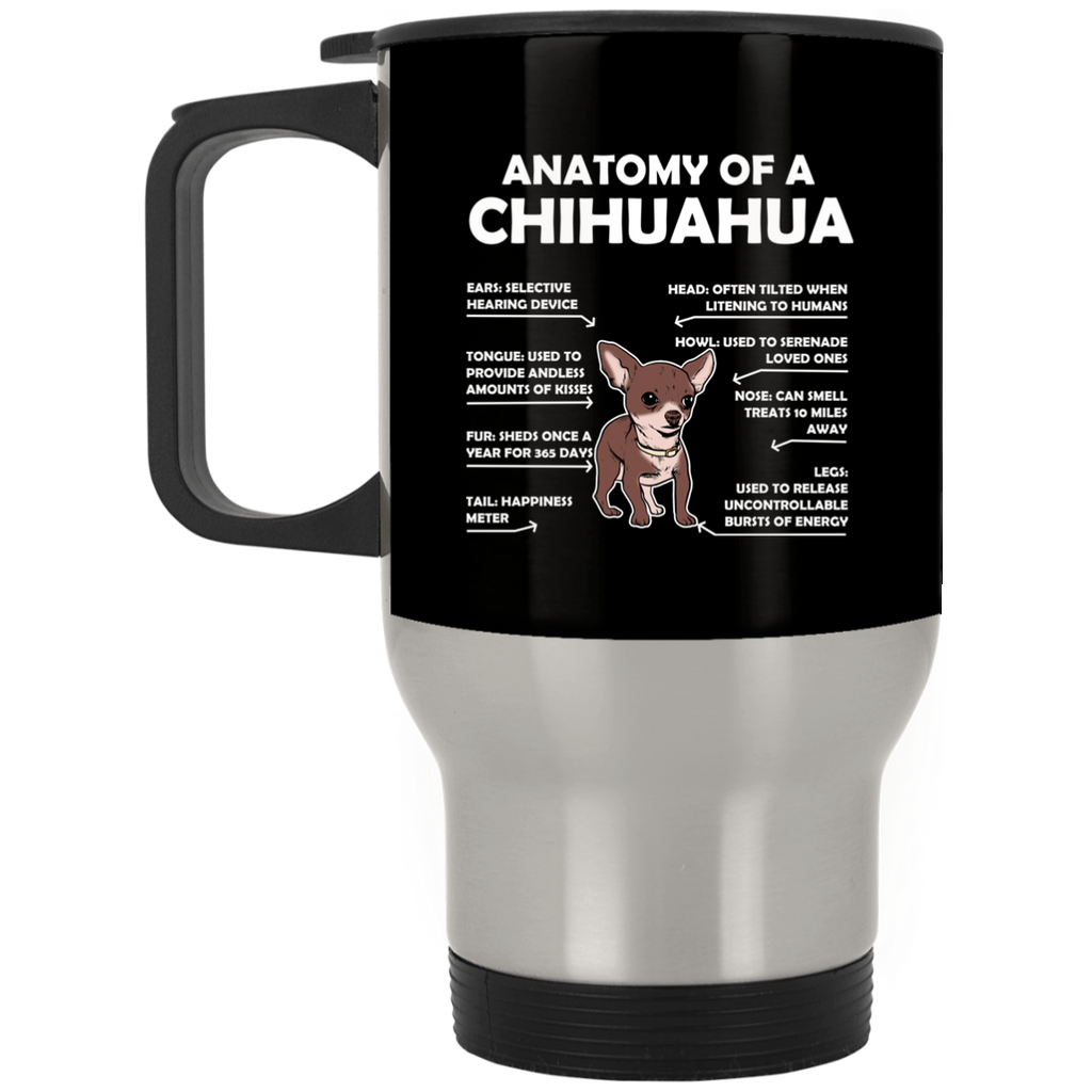 Anatomy Chihuahua Everything For Animal Lovers Mugs