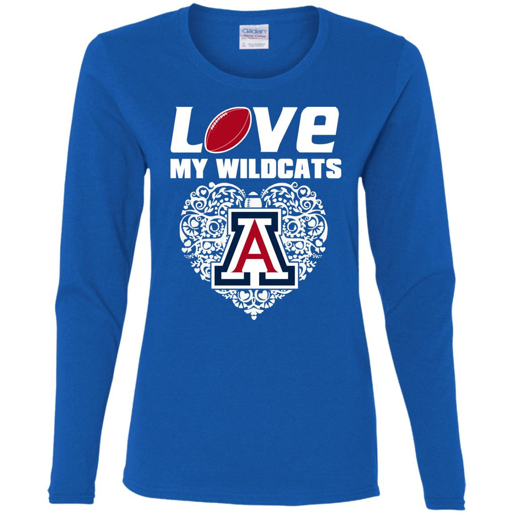 I Love My Teams Arizona Wildcats T Shirt