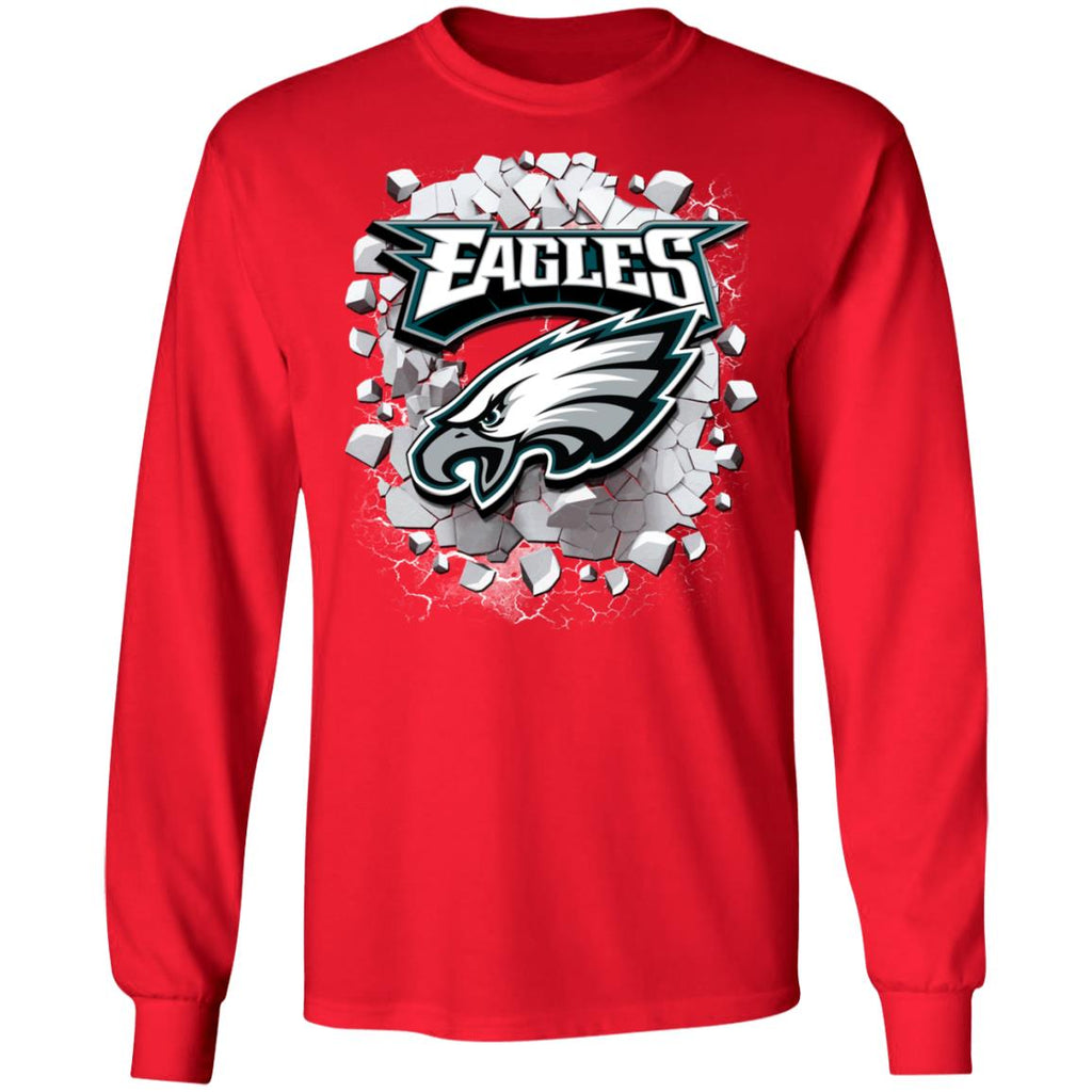 Amazing Earthquake Art Philadelphia Eagles T Shirt