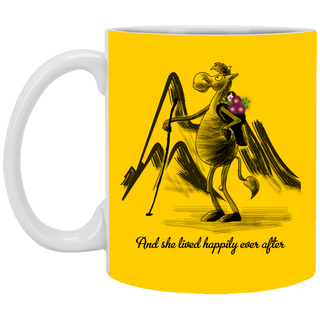 And She Lived Happily Ever After Mugs