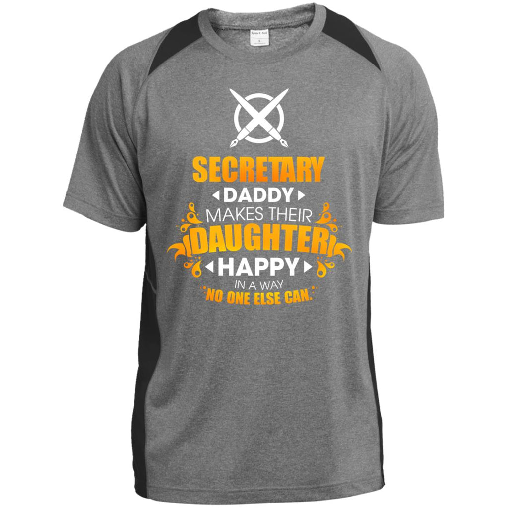 Secretary Daddy Makes Their Daughter Happy Tshirt For Lovers