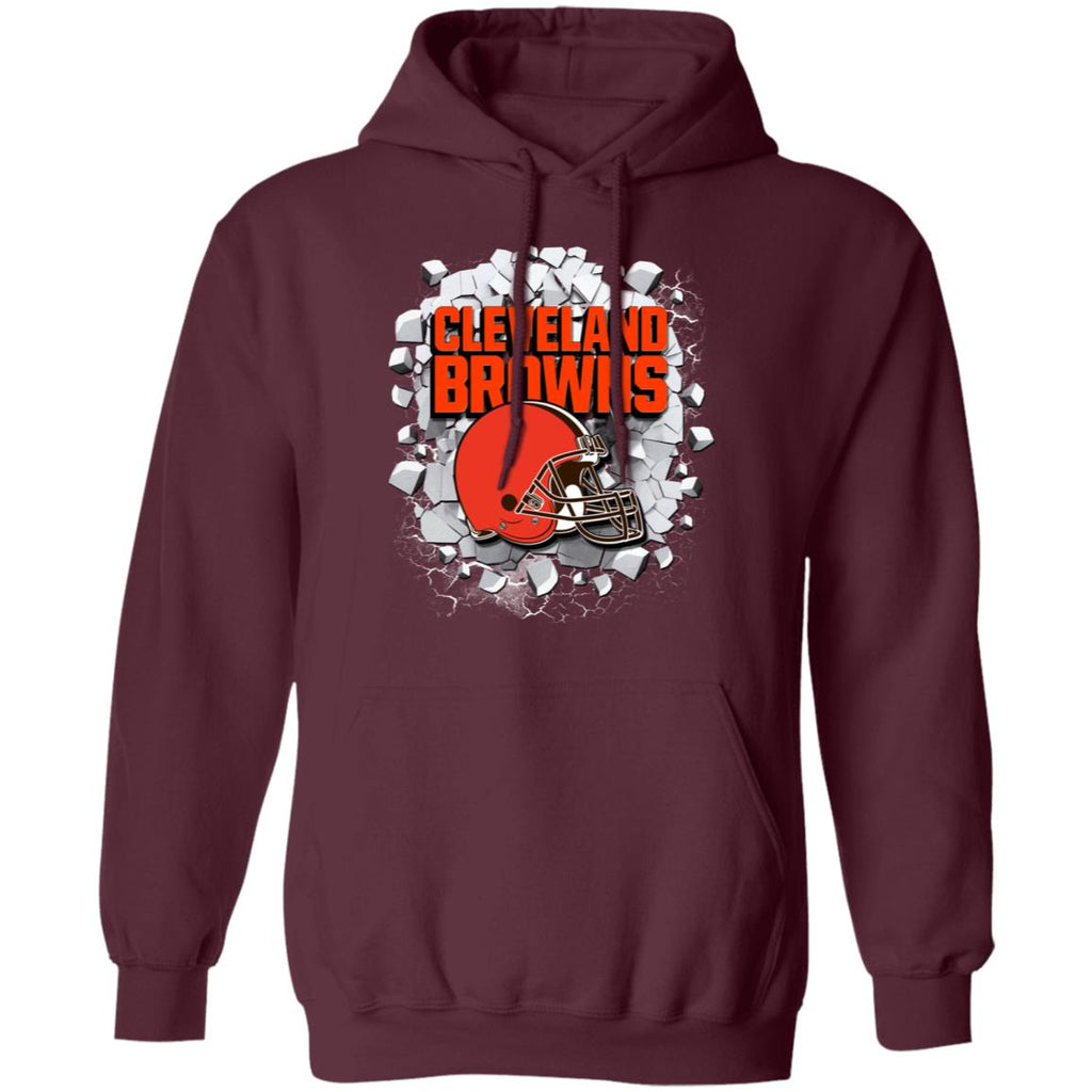 Amazing Earthquake Art Cleveland Browns T Shirt