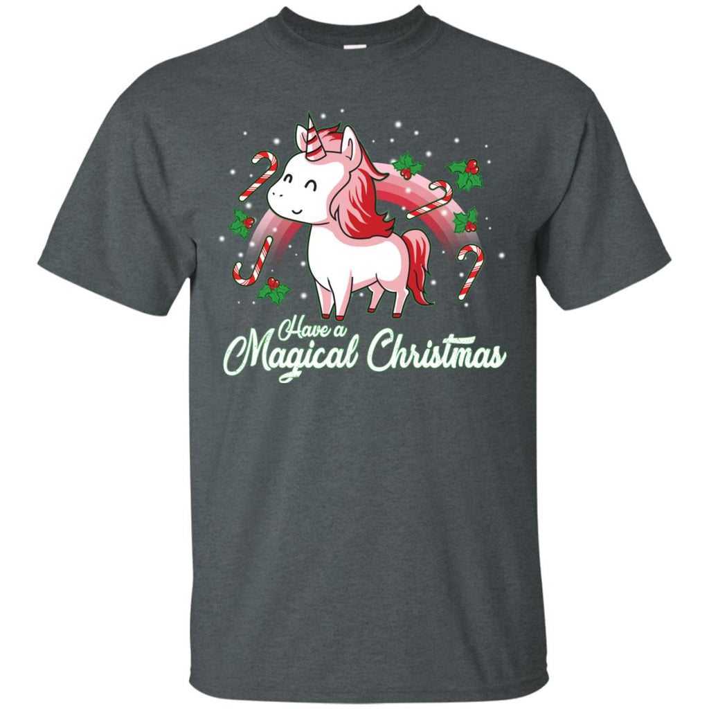 Have A Magical Christmas Tshirt for Unicorn Tee Shirt