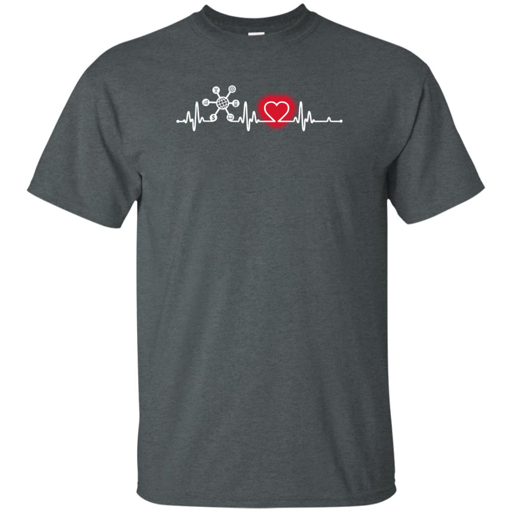Heart Beat Red System Analyst Tee Shirt