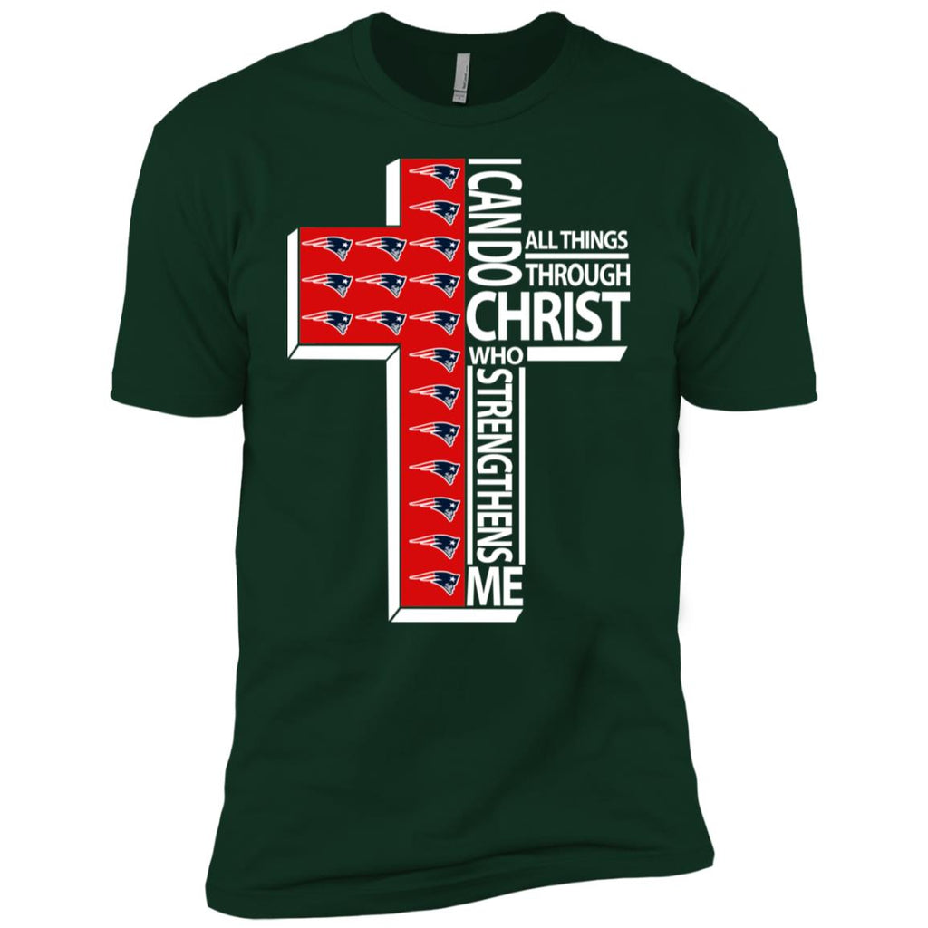 I Can Do All Things Through Christ New England Patriots Tshirt