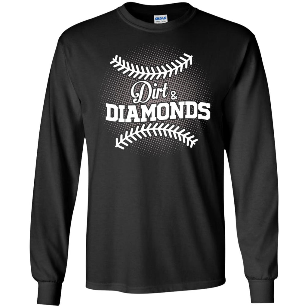 Dirt And Diamonds Mom T Shirt