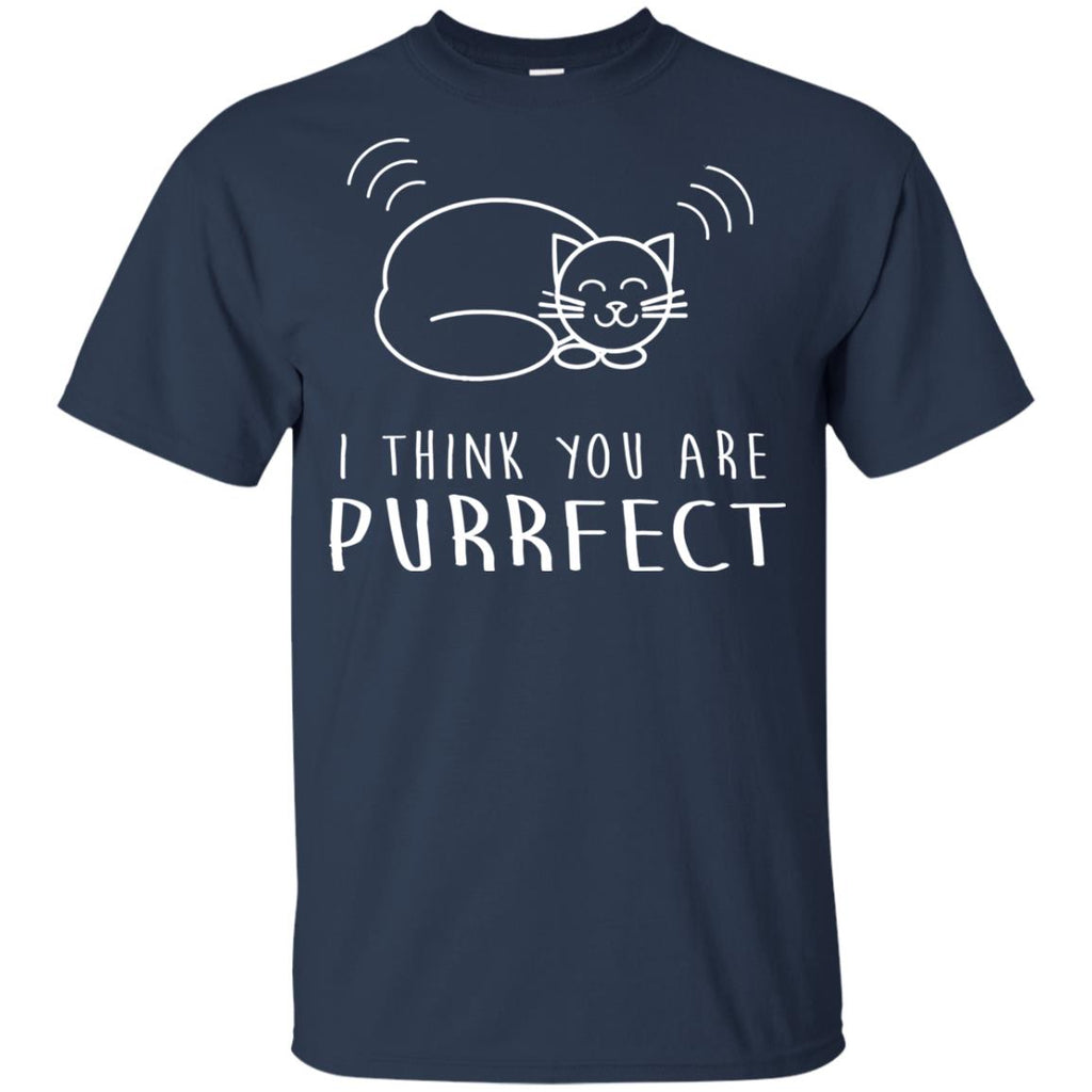 Funny Cat Tee Shirt. You are purrfect is gift for friends as kitten gifts